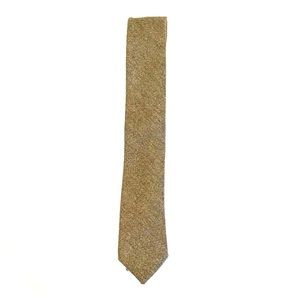 J. Crew Necktie - Green Herringbone and 100% Wool
